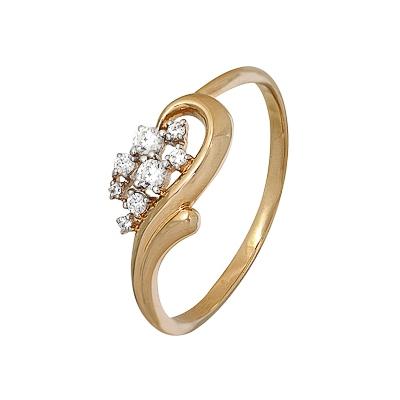Золотое кольцо Ювелирное изделие A1200202545 табурет домотека соренто д 2 д 2