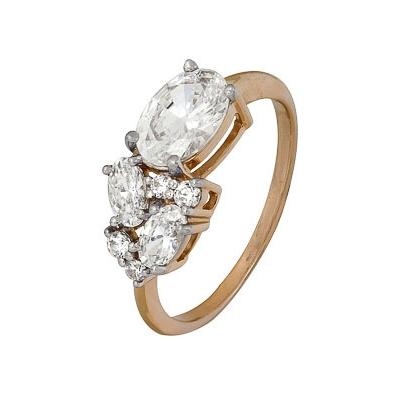 Золотое кольцо Ювелирное изделие A1200202572 кольца колечки кольцо тереза фианит