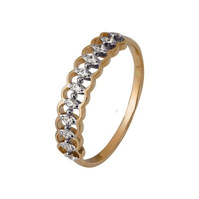 Золотое кольцо Ювелирное изделие A1200203089 кольцо марказит