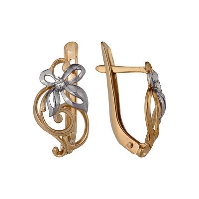 Золотые серьги Ювелирное изделие A1200212706 2015 моды крюк уха gekkonidae ящерица горячей продажи серьги стержня популярные