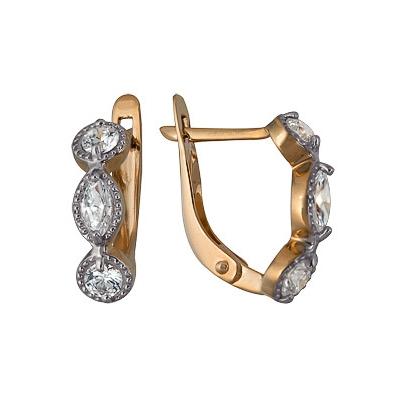 Золотые серьги Ювелирное изделие A1200213091 ювелирные серьги маркиз серьги колечки