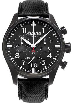 Alpina Часы Alpina AL-372B4FBS6. Коллекция Pilot casio edifice efr 505d 1a