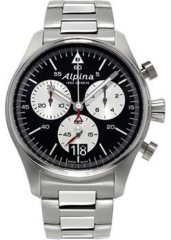 цена на Alpina Часы Alpina AL-372BS4S6B. Коллекция Startimer Pilot