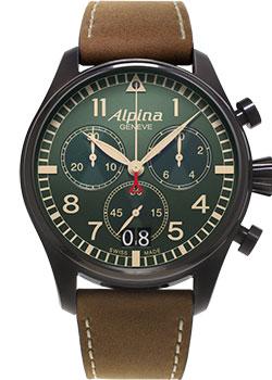 Alpina Часы Alpina AL-372GR4FBS6. Коллекция Aviation