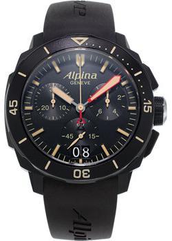 Alpina Часы Alpina AL-372LBBG4FBV6. Коллекция Diving мужские часы alpina al 282lnn4v6