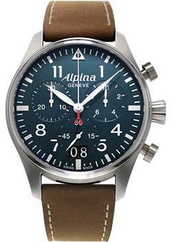 Alpina Часы Alpina AL-372N4S6. Коллекция Pilot alpina часы alpina al 525vg4e6 коллекция alpiner