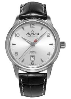Alpina Часы Alpina AL-525S4E6. Коллекция Aviation chic crown pattern heart bracelet for women