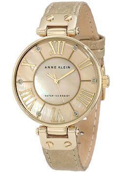 Anne Klein Часы Anne Klein 1012GMGD. Коллекция Ring anne klein 2436 lpgb