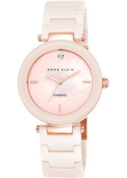Anne Klein Часы Anne Klein 1018PMLP. Коллекция Diamond anne klein часы anne klein 2512gyrg коллекция diamond