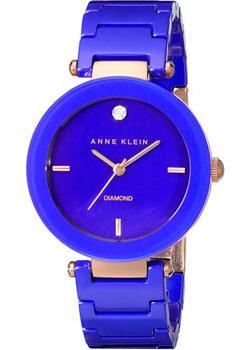 Anne Klein Часы Anne Klein 1018RGCB. Коллекция Ceramics anne klein часы anne klein 9417wtwt коллекция ceramics