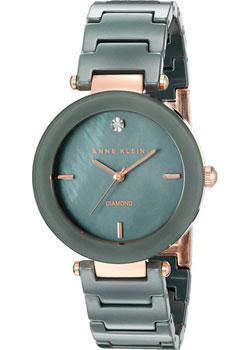 Anne Klein Часы Anne Klein 1018RGGY. Коллекция Ceramics цена