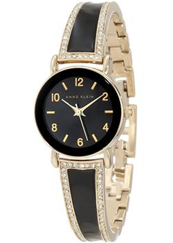 Anne Klein Часы Anne Klein 1028BKGB. Коллекция Crystal anne klein часы anne klein 1262cmgb коллекция crystal
