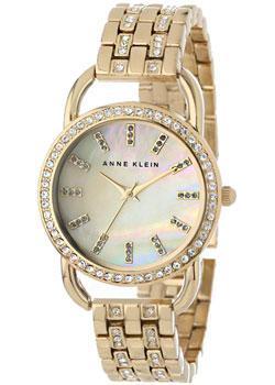 Anne Klein Часы Anne Klein 1262CMGB. Коллекция Crystal