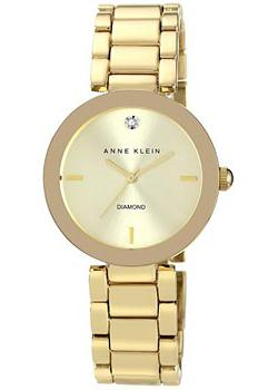 Anne Klein Часы Anne Klein 1362CHGB. Коллекция Diamond anne klein 2836 jade