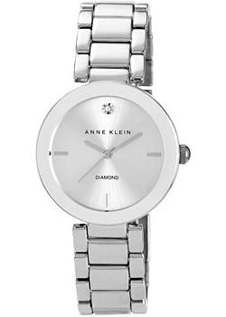 Anne Klein Часы Anne Klein 1363SVSV. Коллекция Diamond anne klein часы anne klein 1019wtwt коллекция diamond