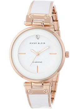 Anne Klein Часы Anne Klein 1414WTRG. Коллекция Diamond anne klein часы anne klein 1019wtwt коллекция diamond