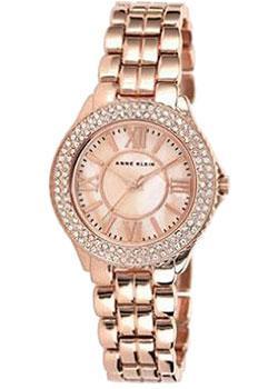 цена Anne Klein Часы Anne Klein 1462RMRG. Коллекция Crystal онлайн в 2017 году