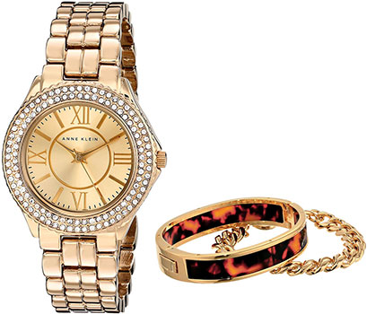 Anne Klein Часы Anne Klein 1462TOST. Коллекция Crystal женские часы anne klein 1408chto