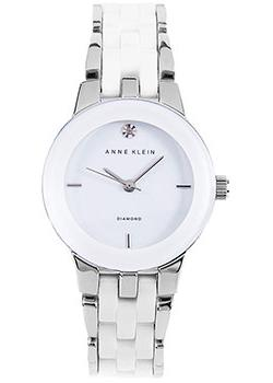 Anne Klein Часы Anne Klein 1611WTSV. Коллекция Diamond anne klein часы anne klein 1019wtwt коллекция diamond