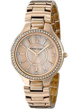 Anne Klein Часы Anne Klein 1854RMRG. Коллекция Crystal anne klein часы anne klein 2934bngb коллекция crystal