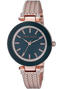 Anne Klein Часы Anne Klein 1906NVRG. Коллекция Crystal anne klein часы anne klein 2934bngb коллекция crystal