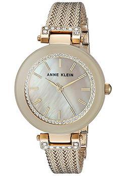 цена Anne Klein Часы Anne Klein 1906TMGB. Коллекция Crystal онлайн в 2017 году