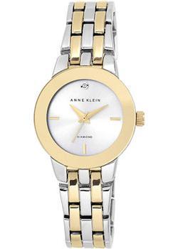 Anne Klein Часы Anne Klein 1931SVTT. Коллекция Diamond anne klein часы anne klein 2512gyrg коллекция diamond