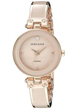 Anne Klein Часы Anne Klein 1980BMRG. Коллекция Crystal подвес из розового золота ростзолото 87437