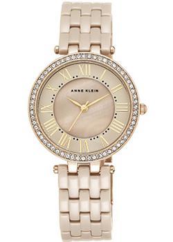 Anne Klein Часы Anne Klein 2130TNGB. Коллекция Ceramics цена