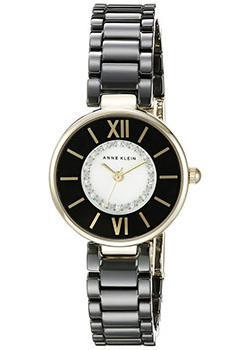 Anne Klein Часы Anne Klein 2178BKGB. Коллекция Crystal anne klein часы anne klein 2934bngb коллекция crystal