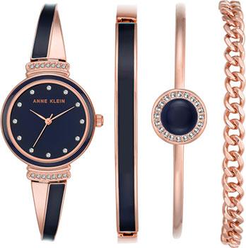 Anne Klein Часы Anne Klein 2216NRST. Коллекция Daily anne klein часы anne klein 2229svsv коллекция daily