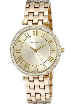 Anne Klein Часы Anne Klein 2230CHGB. Коллекция Crystal anne klein часы anne klein 1262cmgb коллекция crystal
