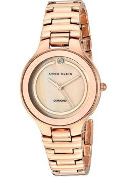 Anne Klein Часы Anne Klein 2412RMRG. Коллекция Diamond anne klein часы anne klein 1980wtrg коллекция diamond