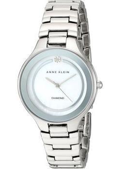 Anne Klein Часы Anne Klein 2413MPSV. Коллекция Diamond anne klein часы anne klein 1414bkgb коллекция diamond