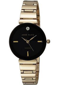 Anne Klein Часы Anne Klein 2434BKGB. Коллекция Diamond anne klein часы anne klein 2512gyrg коллекция diamond