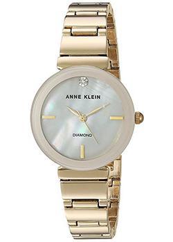 Anne Klein Часы Anne Klein 2434PMGB. Коллекция Diamond princess anne 020104