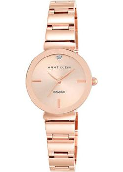 Anne Klein Часы Anne Klein 2434RGRG. Коллекция Diamond anne klein часы anne klein 2358svrd коллекция diamond
