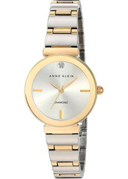 Anne Klein Часы Anne Klein 2435SVTT. Коллекция Diamond anne klein часы anne klein 2512gyrg коллекция diamond