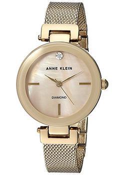 Anne Klein Часы Anne Klein 2472TMGB. Коллекция Diamond цена