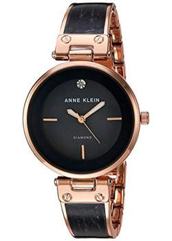 Anne Klein Часы Anne Klein 2512GYRG. Коллекция Diamond anne klein часы anne klein 1019wtwt коллекция diamond page 1