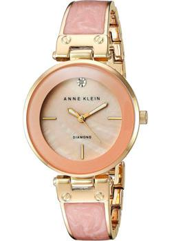 Anne Klein Часы Anne Klein 2512LPGB. Коллекция Diamond anne klein часы anne klein 1363svsv коллекция diamond