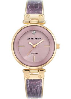 Anne Klein Часы Anne Klein 2512LVGB. Коллекция Diamond anne klein часы anne klein 1019wtwt коллекция diamond page 2