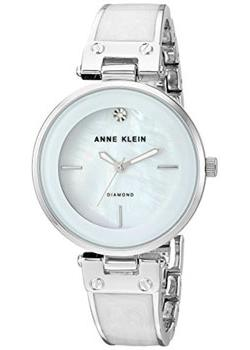 Anne Klein Часы Anne Klein 2513WTSV. Коллекция Diamond anne klein часы anne klein 2670pmgb коллекция diamond