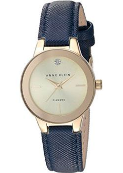 Anne Klein Часы Anne Klein 2538CHNV. Коллекция Diamond anne klein часы anne klein 1363svsv коллекция diamond