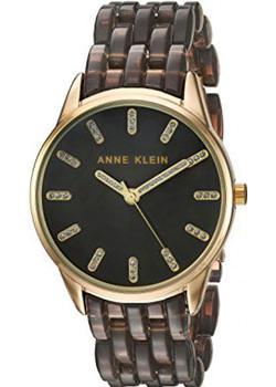 Anne Klein Часы Anne Klein 2616GYGB. Коллекция Crystal anne klein часы anne klein 1262cmgb коллекция crystal