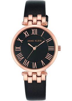 Anne Klein Часы Anne Klein 2618RGBK. Коллекция Daily часы anne klein anne klein an029dwdbj10