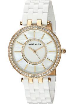 Anne Klein Часы Anne Klein 2620WTGB. Коллекция Crystal anne klein часы anne klein 1262cmgb коллекция crystal