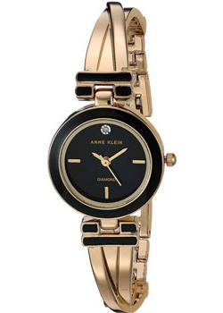 Anne Klein Часы Anne Klein 2622BKGB. Коллекция Diamond anne klein часы anne klein 1019wtwt коллекция diamond page 2