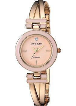Anne Klein Часы Anne Klein 2622LPGB. Коллекция Diamond anne klein часы anne klein 1019wtwt коллекция diamond page 1
