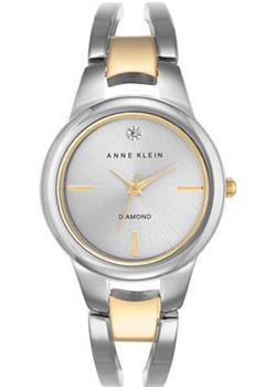 Anne Klein Часы Anne Klein 2629SVTT. Коллекция Diamond anne klein часы anne klein 2512gyrg коллекция diamond